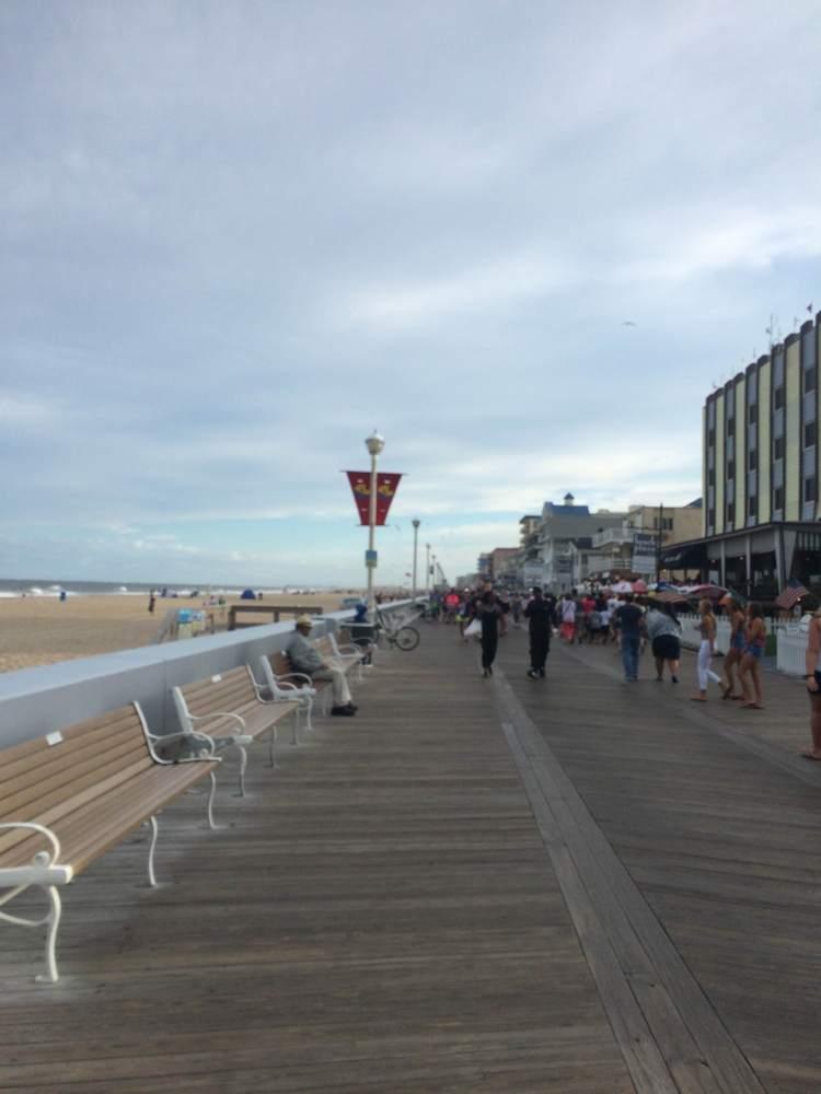 Boardwalk in Ocean City, MD!